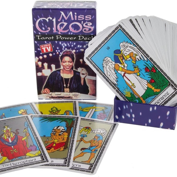 Miss Cleo Tarot Card Deck